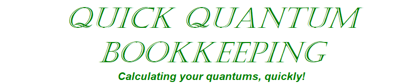 Quick Quantum Bookkeeping
